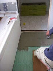 Electric Floor Heating Installation Picture 8