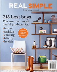 WarmlyYours in Real Simple Magazine