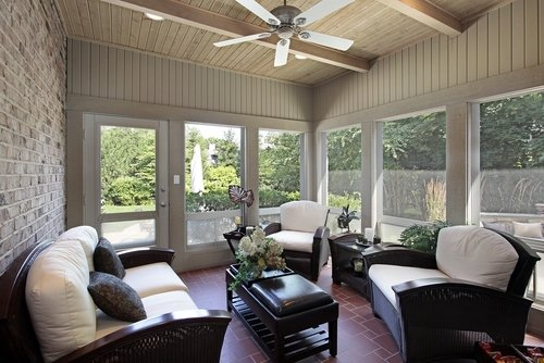 Sunrooms with Radiant Heating Extend the Use of the Room During the Year