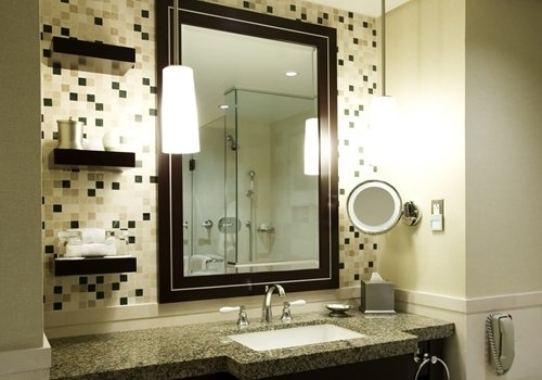 Quick Style Changes Enliven a Bathroom Design in No Time