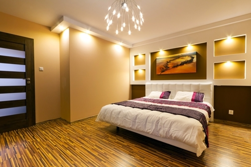 Floors and Ceilings Should Be Considered Along with Walls in Home Decorating