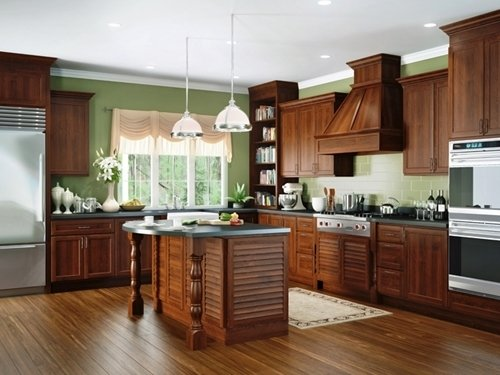 New Kitchen Activities Lead to More Choices in Colors and Furnishings
