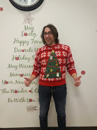 WarmlyYours Ugly Sweater Contest first runner-up, Pablo Gammeri.
