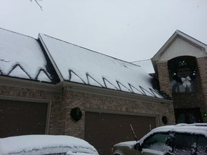 WarmlyYours roof and gutter deicing system donated to Tee Shirts 4 Troops.