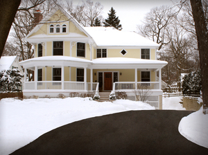 WarmlyYours snow melting systems keep driveways and walkways clear of ice and snow without hassle.