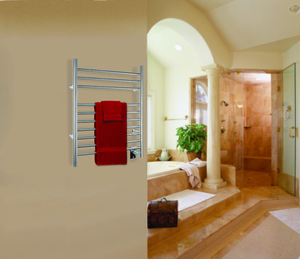 Treat your Valentine to a WarmlyYours towel warmer, on sale this weekend for 25% off.
