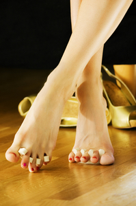 Free your feet with radiant heat. Share your pedicure pic, and WarmlyYours will give you a chance to win a $40 gift card.