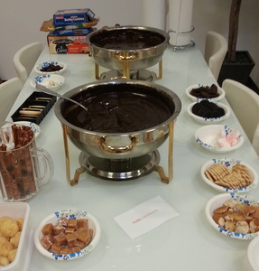 Chocolate Fondue Party
