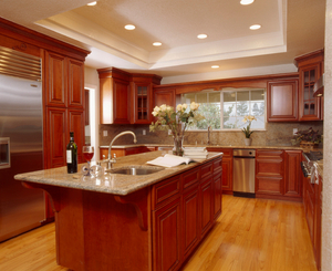 A beautiful kitchen remodel