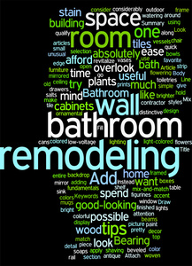 Remodeling, bathroom, building graphic
