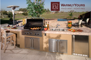 Luxury outdoor kitchen