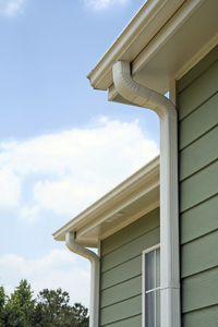 Clear gutters of debris and add a roof and gutter deicing system to prevent costly damage from ice dams and trapped water.