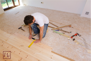 Remodeling projects, like new flooring and radiant heating, are on the rise.