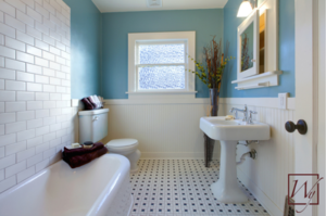 Bathroom heated floors