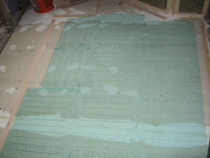tempzone floor heating installation