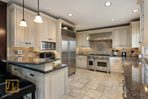 Philadelphia kitchen heated floors