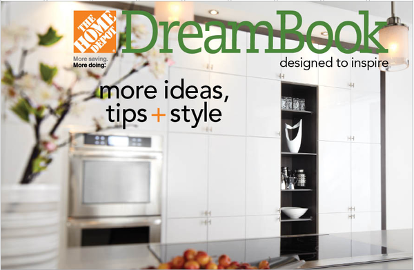 Home Depot Canada Dream Book