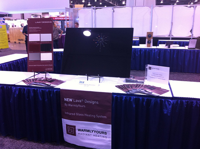 KBIS 2011 winner Lava Infrared Heating Panel