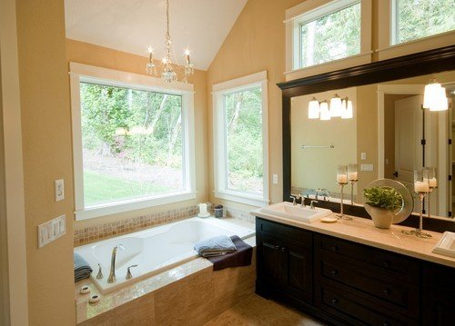 Creating a beach-inspired bathroom with an emphasis on comfort.