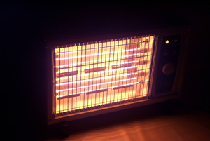 space heaters versus radiant heating