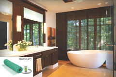 Luxury Bathrooms with Floor Warming