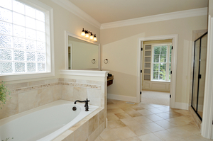 eco-friendly radiant heat bathrooms