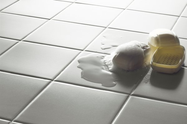 No more slipping in the bathroom with floor heating