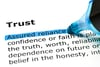 Trust with customers increases sales
