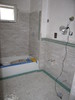 Floor heating in bathroom
