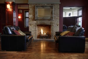 keeping warm with radiant heat without central heating