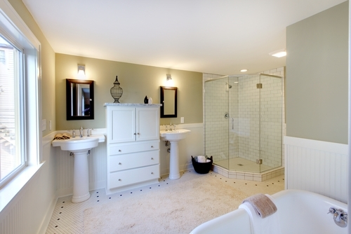 The bathroom uses the most water of any room in the home