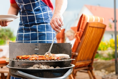 A heated driveway or walkway can make grilling outdoors easier during the winter months