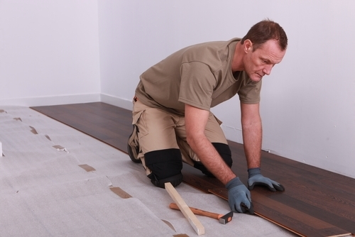 Installing new flooring is one way to make a home more attractive to buyers
