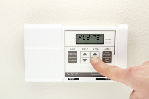Installing a programmable thermostat is a quick and easy way to increase your home