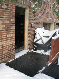 HeatTrak Outdoor Heating systems at work in Chicago