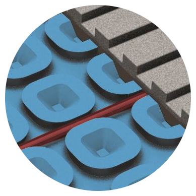 Prodeso Membrane vs. Schluter®-DITRA-HEAT
