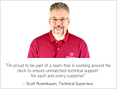Scott Rosenbaum, Technical Supervisor