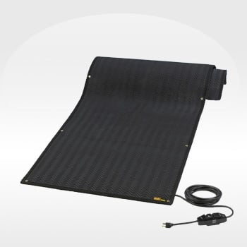 Portable Outdoor Heating Mats