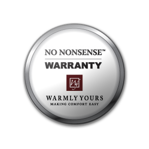 WarmlyYours' No Nonsense Warranty