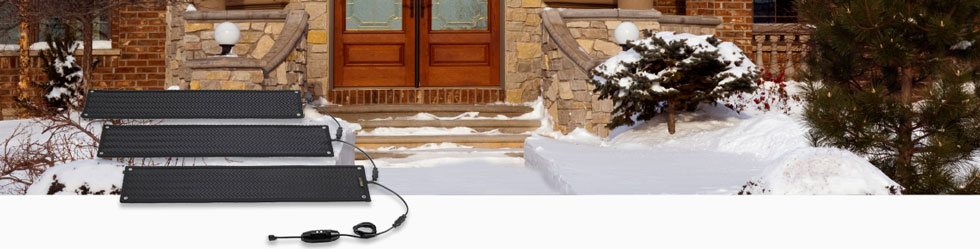 Snow Melting Systems, Portable Systems for Stairways