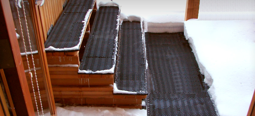 Portable Snow Melting Mats