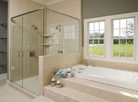 Luxury Radiant Bathroom Heating