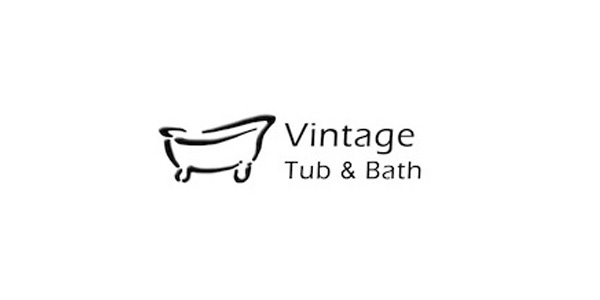 Vintage Tub and Bath Logo