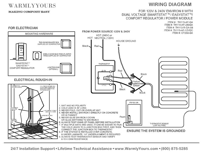 [ZTBE_9966]  Floor Heat: Floor Heat Wiring Diagram | In Floor Heat Wiring Diagram |  | Floor Heat - blogger