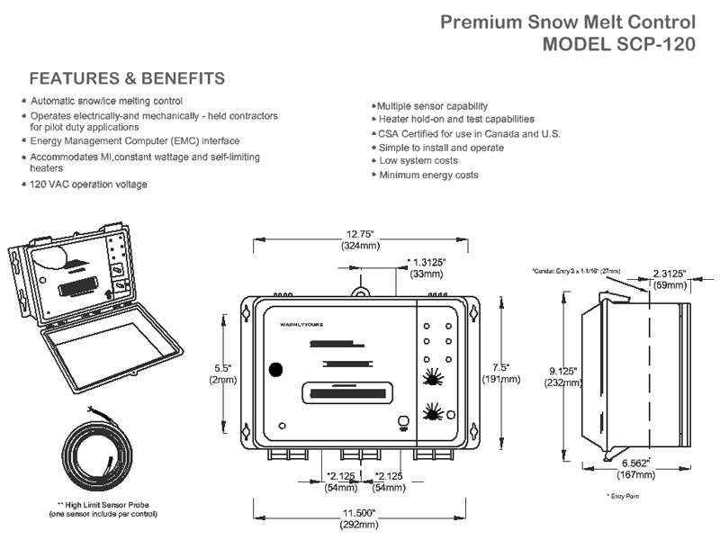 Premium Snow Melting Control