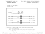 Wiring Relay 4-PL